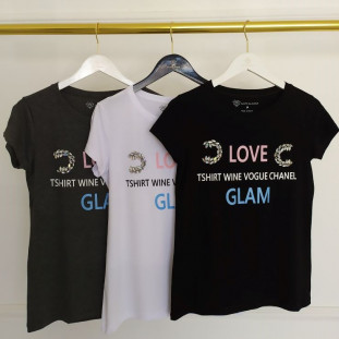Tshirt Love Glam